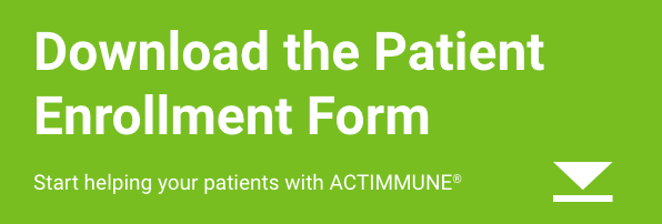 ACTIMMUNE® (Interferon gamma-1b) Patient Enrollment Form download button
